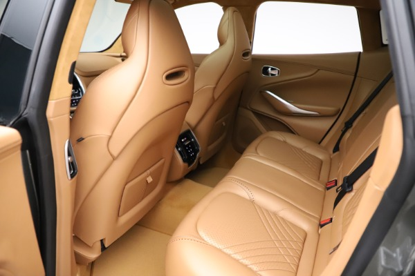 New 2021 Aston Martin DBX for sale $211,486 at Bugatti of Greenwich in Greenwich CT 06830 19