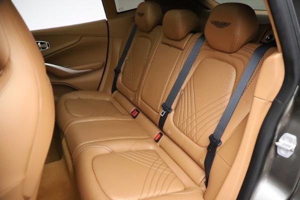 New 2021 Aston Martin DBX for sale $211,486 at Bugatti of Greenwich in Greenwich CT 06830 20