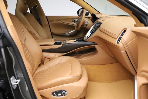 New 2021 Aston Martin DBX for sale $211,486 at Bugatti of Greenwich in Greenwich CT 06830 23