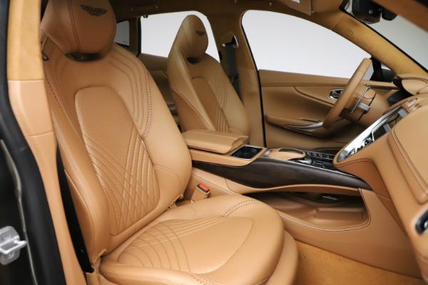 New 2021 Aston Martin DBX for sale $211,486 at Bugatti of Greenwich in Greenwich CT 06830 24