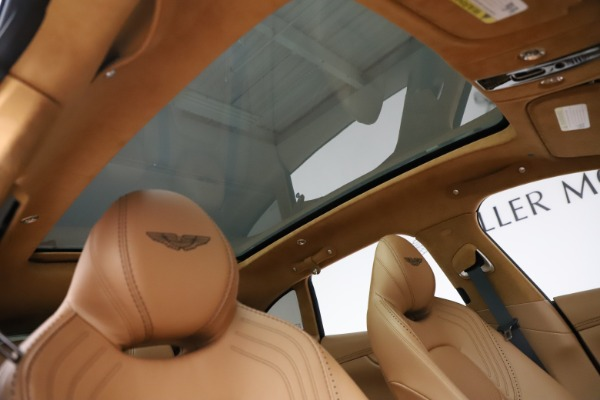 New 2021 Aston Martin DBX for sale $211,486 at Bugatti of Greenwich in Greenwich CT 06830 25