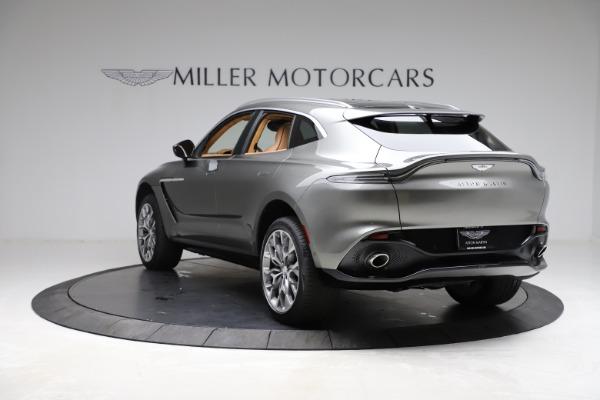 New 2021 Aston Martin DBX for sale $211,486 at Bugatti of Greenwich in Greenwich CT 06830 4