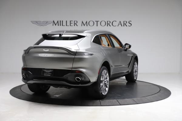 New 2021 Aston Martin DBX for sale $211,486 at Bugatti of Greenwich in Greenwich CT 06830 6