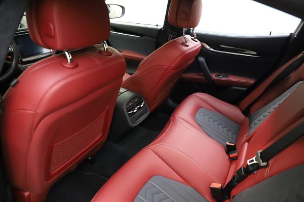 Used 2018 Maserati Ghibli SQ4 GranLusso for sale $55,900 at Bugatti of Greenwich in Greenwich CT 06830 13