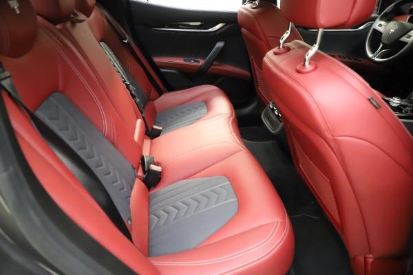 Used 2018 Maserati Ghibli SQ4 GranLusso for sale $55,900 at Bugatti of Greenwich in Greenwich CT 06830 20