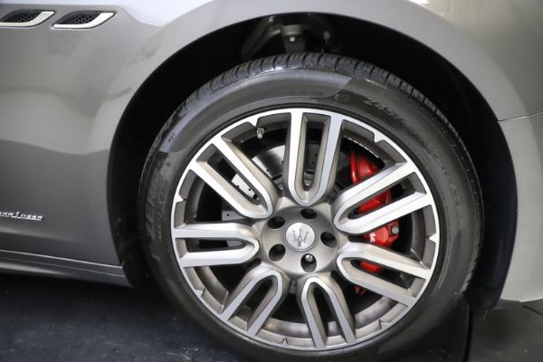 Used 2018 Maserati Ghibli SQ4 GranLusso for sale $55,900 at Bugatti of Greenwich in Greenwich CT 06830 22