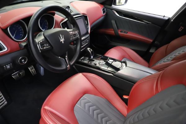 Used 2018 Maserati Ghibli SQ4 GranLusso for sale $55,900 at Bugatti of Greenwich in Greenwich CT 06830 8