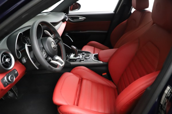 New 2021 Alfa Romeo Giulia Ti Sport for sale $54,050 at Bugatti of Greenwich in Greenwich CT 06830 16