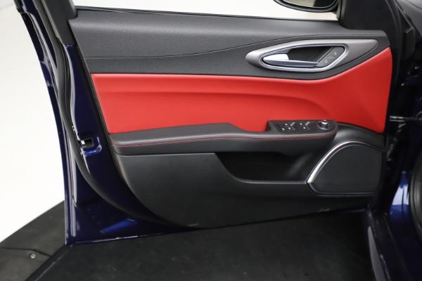 New 2021 Alfa Romeo Giulia Ti Sport for sale $54,050 at Bugatti of Greenwich in Greenwich CT 06830 18