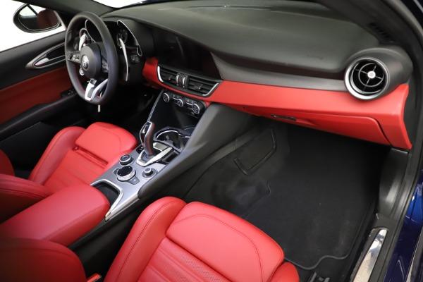 New 2021 Alfa Romeo Giulia Ti Sport for sale $54,050 at Bugatti of Greenwich in Greenwich CT 06830 19