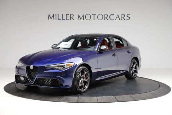 New 2021 Alfa Romeo Giulia Ti Sport for sale $54,050 at Bugatti of Greenwich in Greenwich CT 06830 2