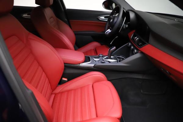 New 2021 Alfa Romeo Giulia Ti Sport for sale $54,050 at Bugatti of Greenwich in Greenwich CT 06830 20