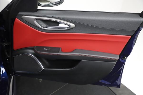 New 2021 Alfa Romeo Giulia Ti Sport for sale $54,050 at Bugatti of Greenwich in Greenwich CT 06830 21