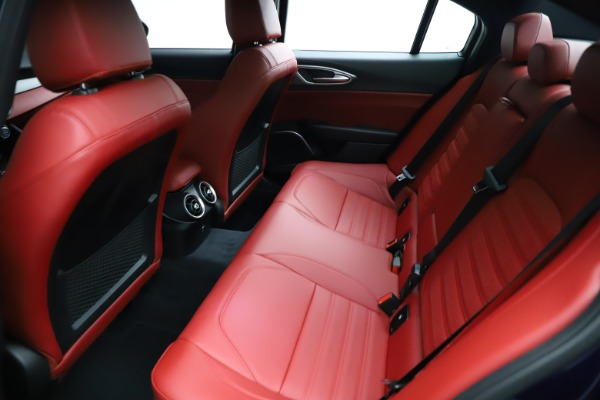 New 2021 Alfa Romeo Giulia Ti Sport for sale $54,050 at Bugatti of Greenwich in Greenwich CT 06830 23