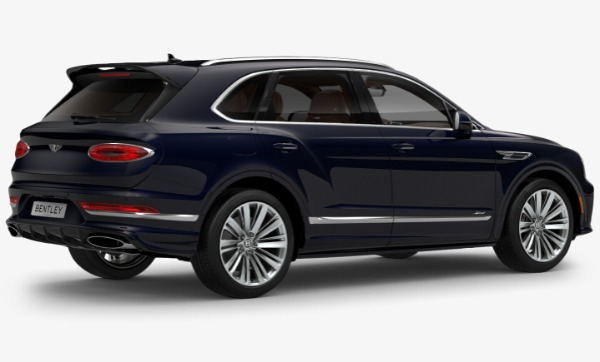 New 2021 Bentley Bentayga Speed for sale Call for price at Bugatti of Greenwich in Greenwich CT 06830 3
