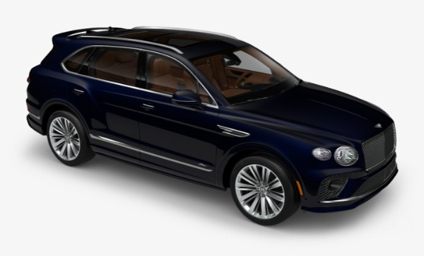 New 2021 Bentley Bentayga Speed for sale Call for price at Bugatti of Greenwich in Greenwich CT 06830 5