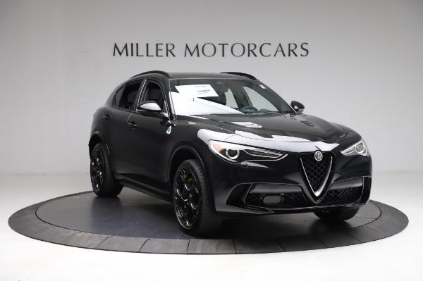 New 2021 Alfa Romeo Stelvio Quadrifoglio for sale $90,450 at Bugatti of Greenwich in Greenwich CT 06830 11