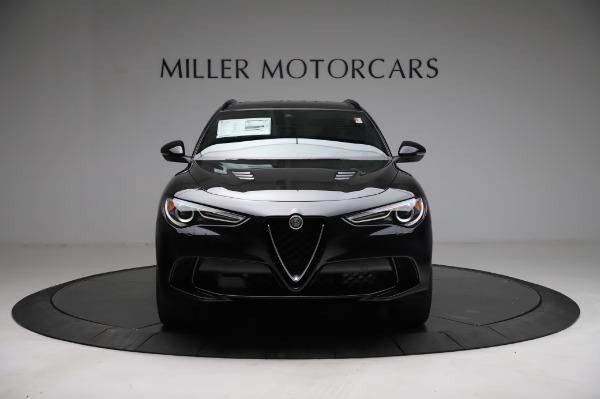 New 2021 Alfa Romeo Stelvio Quadrifoglio for sale $90,450 at Bugatti of Greenwich in Greenwich CT 06830 12