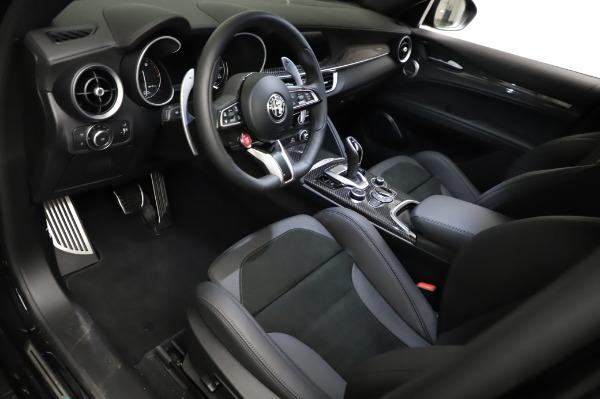 New 2021 Alfa Romeo Stelvio Quadrifoglio for sale $90,450 at Bugatti of Greenwich in Greenwich CT 06830 13
