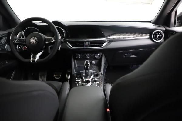 New 2021 Alfa Romeo Stelvio Quadrifoglio for sale $90,450 at Bugatti of Greenwich in Greenwich CT 06830 16
