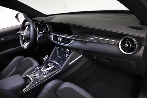 New 2021 Alfa Romeo Stelvio Quadrifoglio for sale $90,450 at Bugatti of Greenwich in Greenwich CT 06830 21