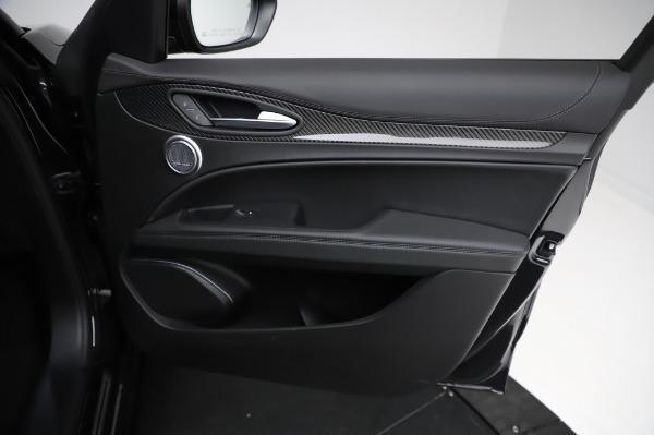 New 2021 Alfa Romeo Stelvio Quadrifoglio for sale $90,450 at Bugatti of Greenwich in Greenwich CT 06830 24
