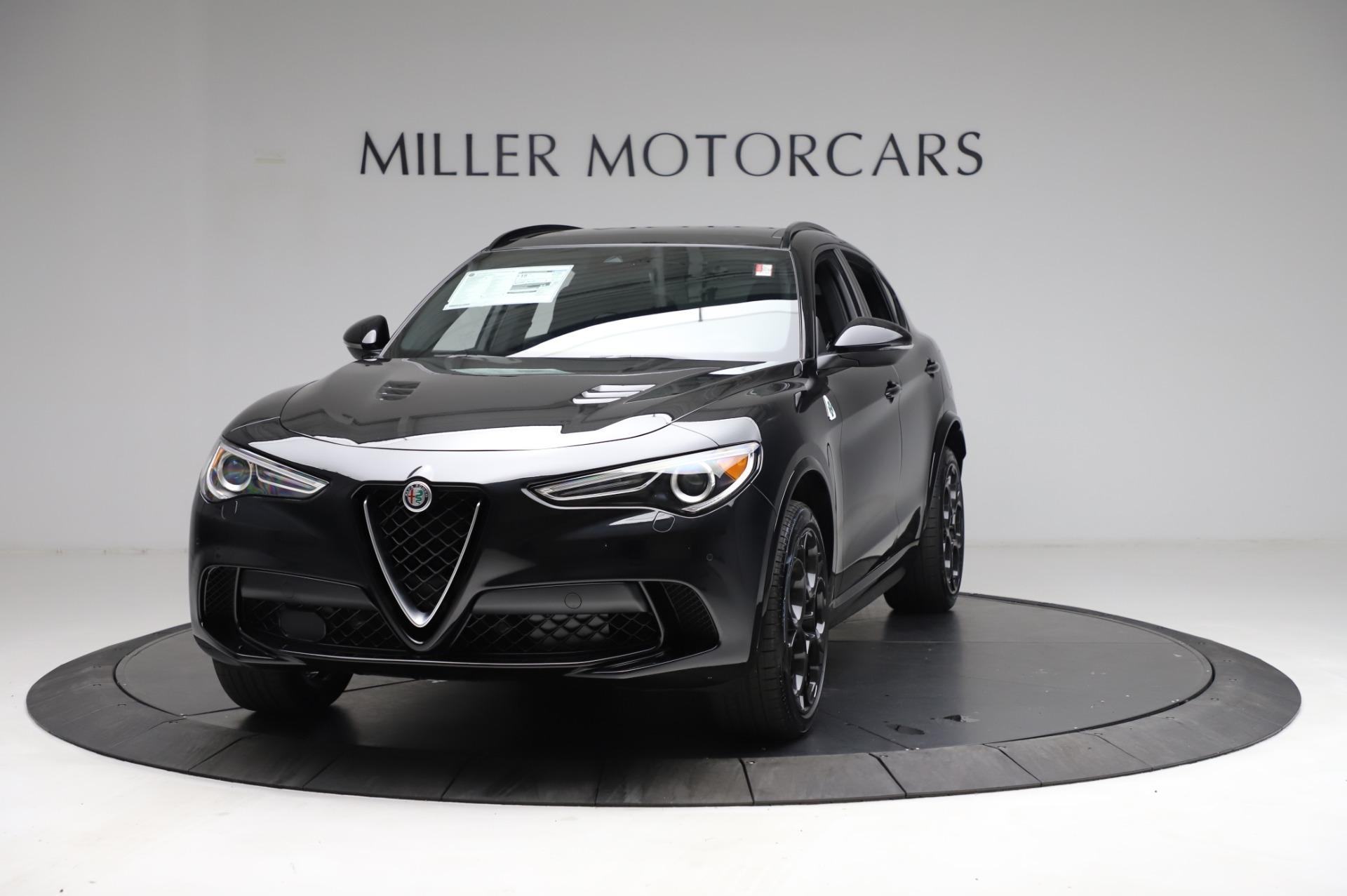 New 2021 Alfa Romeo Stelvio Quadrifoglio for sale $90,450 at Bugatti of Greenwich in Greenwich CT 06830 1