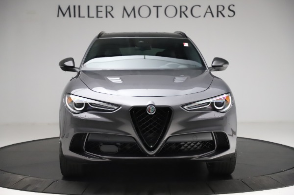 New 2021 Alfa Romeo Stelvio Quadrifoglio for sale $91,750 at Bugatti of Greenwich in Greenwich CT 06830 12