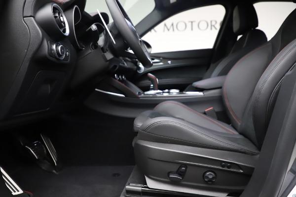 New 2021 Alfa Romeo Stelvio Quadrifoglio for sale $91,750 at Bugatti of Greenwich in Greenwich CT 06830 14