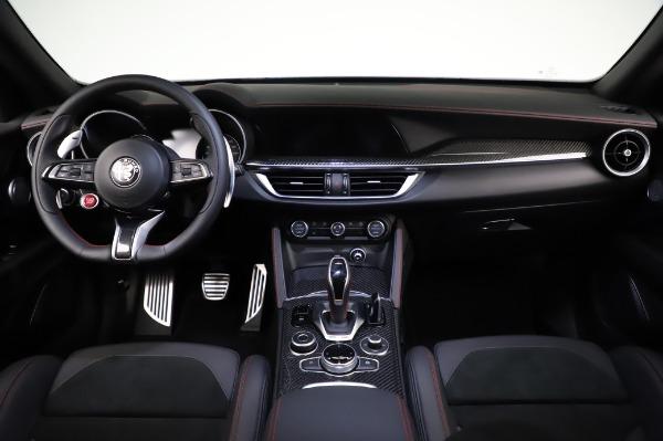 New 2021 Alfa Romeo Stelvio Quadrifoglio for sale $91,750 at Bugatti of Greenwich in Greenwich CT 06830 16