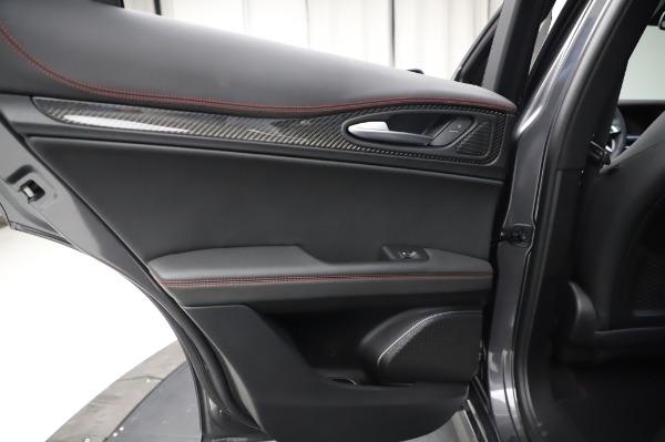 New 2021 Alfa Romeo Stelvio Quadrifoglio for sale $91,750 at Bugatti of Greenwich in Greenwich CT 06830 21