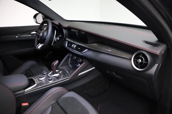 New 2021 Alfa Romeo Stelvio Quadrifoglio for sale $91,750 at Bugatti of Greenwich in Greenwich CT 06830 22