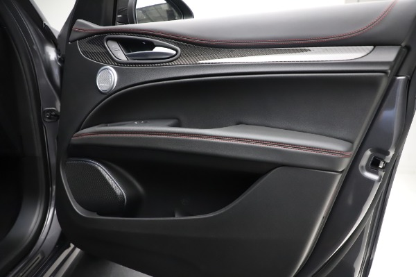 New 2021 Alfa Romeo Stelvio Quadrifoglio for sale $91,750 at Bugatti of Greenwich in Greenwich CT 06830 25
