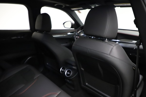 New 2021 Alfa Romeo Stelvio Quadrifoglio for sale $91,750 at Bugatti of Greenwich in Greenwich CT 06830 28