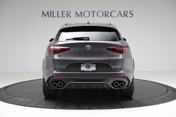 New 2021 Alfa Romeo Stelvio Quadrifoglio for sale $91,750 at Bugatti of Greenwich in Greenwich CT 06830 6
