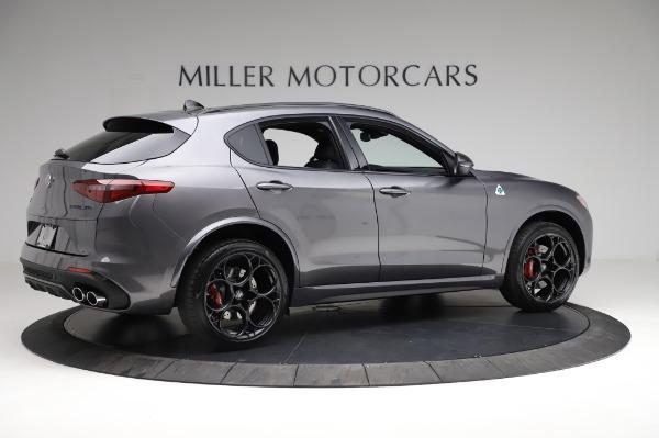 New 2021 Alfa Romeo Stelvio Quadrifoglio for sale $91,750 at Bugatti of Greenwich in Greenwich CT 06830 8