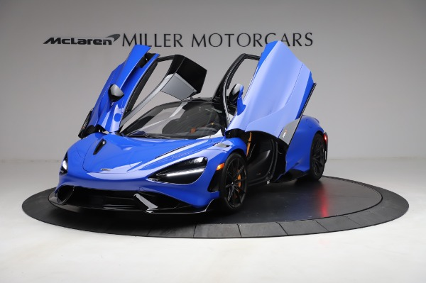 Used 2021 McLaren 765LT for sale Sold at Bugatti of Greenwich in Greenwich CT 06830 13