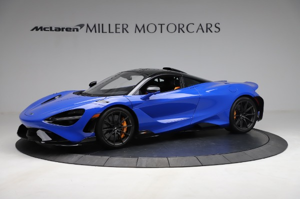 Used 2021 McLaren 765LT for sale Sold at Bugatti of Greenwich in Greenwich CT 06830 2