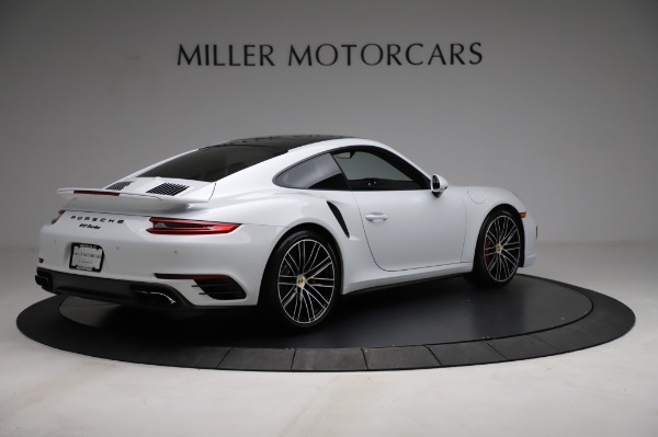 Used 2018 Porsche 911 Turbo for sale $159,990 at Bugatti of Greenwich in Greenwich CT 06830 10
