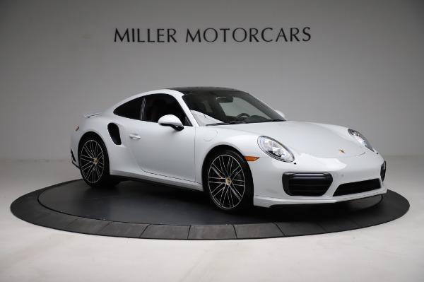 Used 2018 Porsche 911 Turbo for sale $159,990 at Bugatti of Greenwich in Greenwich CT 06830 14