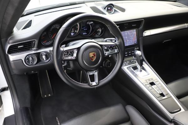 Used 2018 Porsche 911 Turbo for sale $159,990 at Bugatti of Greenwich in Greenwich CT 06830 22