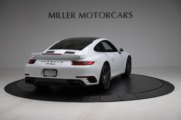 Used 2018 Porsche 911 Turbo for sale $159,990 at Bugatti of Greenwich in Greenwich CT 06830 9