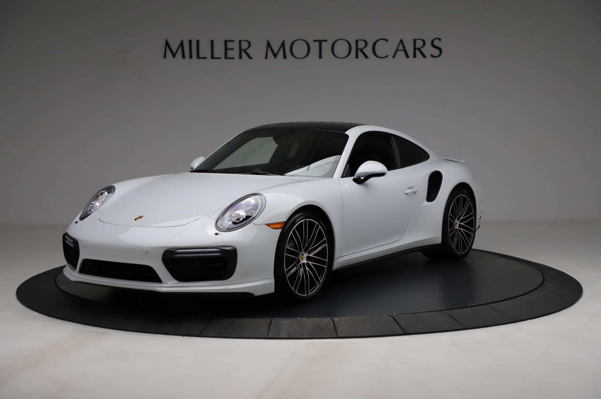 Used 2018 Porsche 911 Turbo for sale $159,990 at Bugatti of Greenwich in Greenwich CT 06830 1