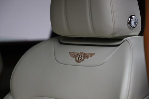Used 2018 Bentley Bentayga Onyx Edition for sale $149,900 at Bugatti of Greenwich in Greenwich CT 06830 20