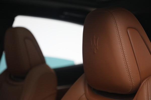 New 2021 Maserati Levante S Q4 GranSport for sale Call for price at Bugatti of Greenwich in Greenwich CT 06830 18