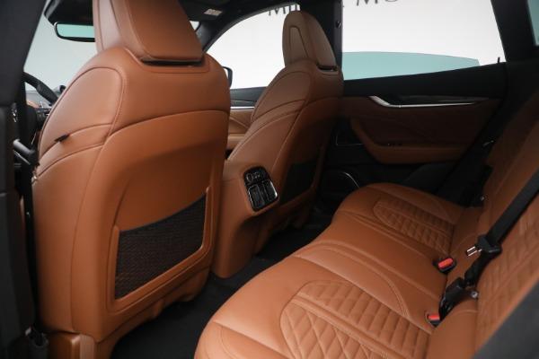 New 2021 Maserati Levante S Q4 GranSport for sale Call for price at Bugatti of Greenwich in Greenwich CT 06830 25