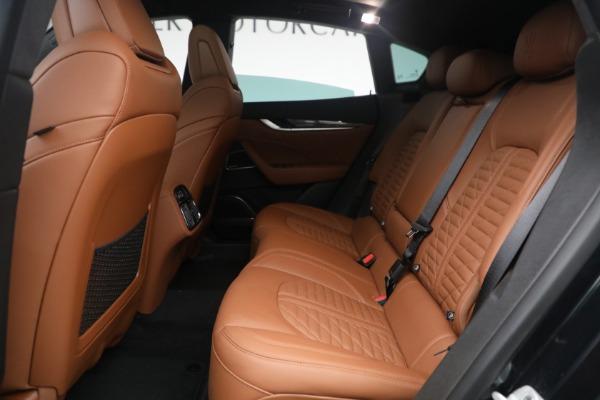 New 2021 Maserati Levante S Q4 GranSport for sale Call for price at Bugatti of Greenwich in Greenwich CT 06830 26