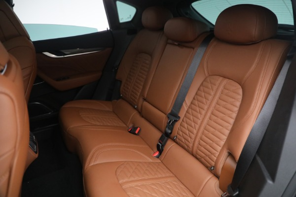 New 2021 Maserati Levante S Q4 GranSport for sale Call for price at Bugatti of Greenwich in Greenwich CT 06830 27