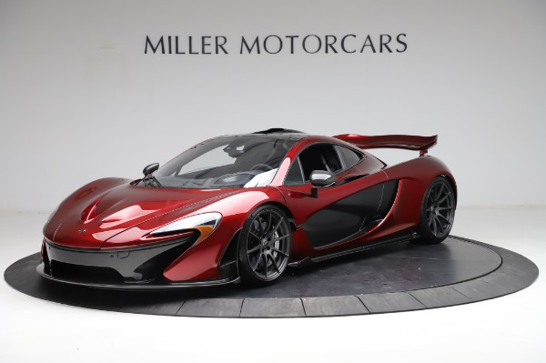 Used 2014 McLaren P1 for sale Call for price at Bugatti of Greenwich in Greenwich CT 06830 3
