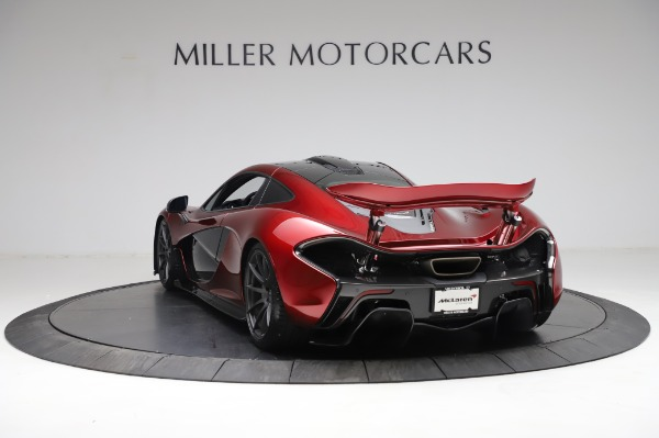 Used 2014 McLaren P1 for sale Call for price at Bugatti of Greenwich in Greenwich CT 06830 7